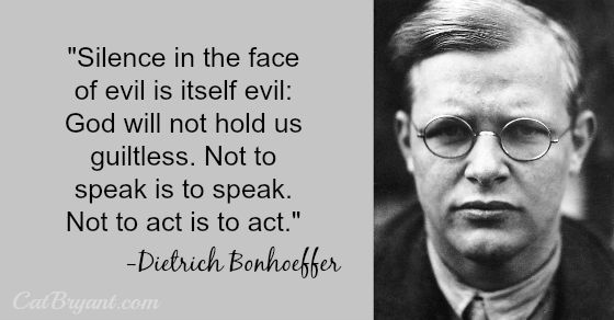 Silence - Bonhoeffer